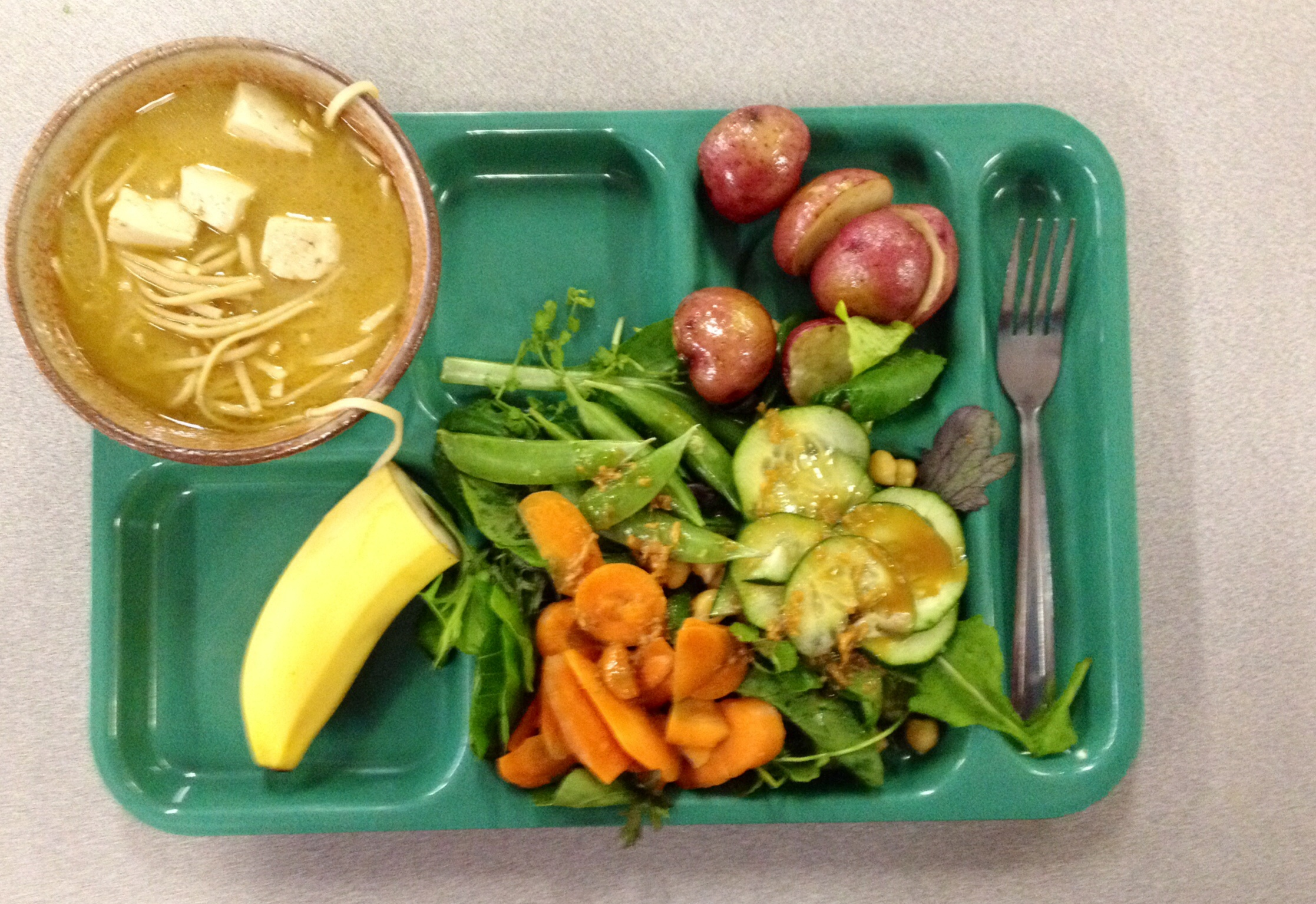 Education: Public Charter School Serves Vegan Lunch