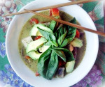 Vegan Thai Green Curry from scratch