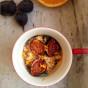 Orange Cinnamon Quinoa Porridge with Caramelized Figs
