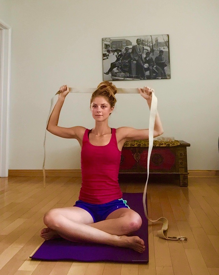 5 Yoga Exercises To Correct Rounded Shoulders | Peaceful ...