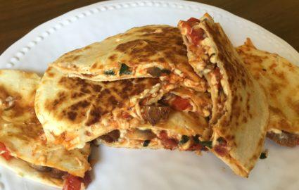 Vegan Snack Recipes: Vegan Pizzadilla (Video)