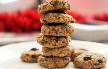 Vegan Dessert Recipes: Cherry Almond Muesli Cookies