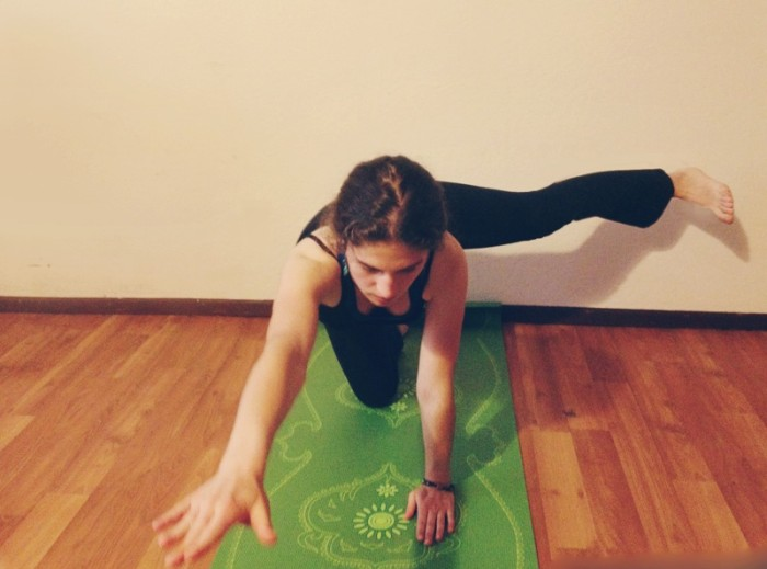 Yoga for Strong Core - Peaceful Dumpling - cat and cow variation