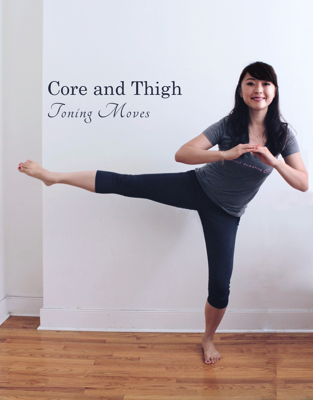 4 Toning Core and Thigh Moves