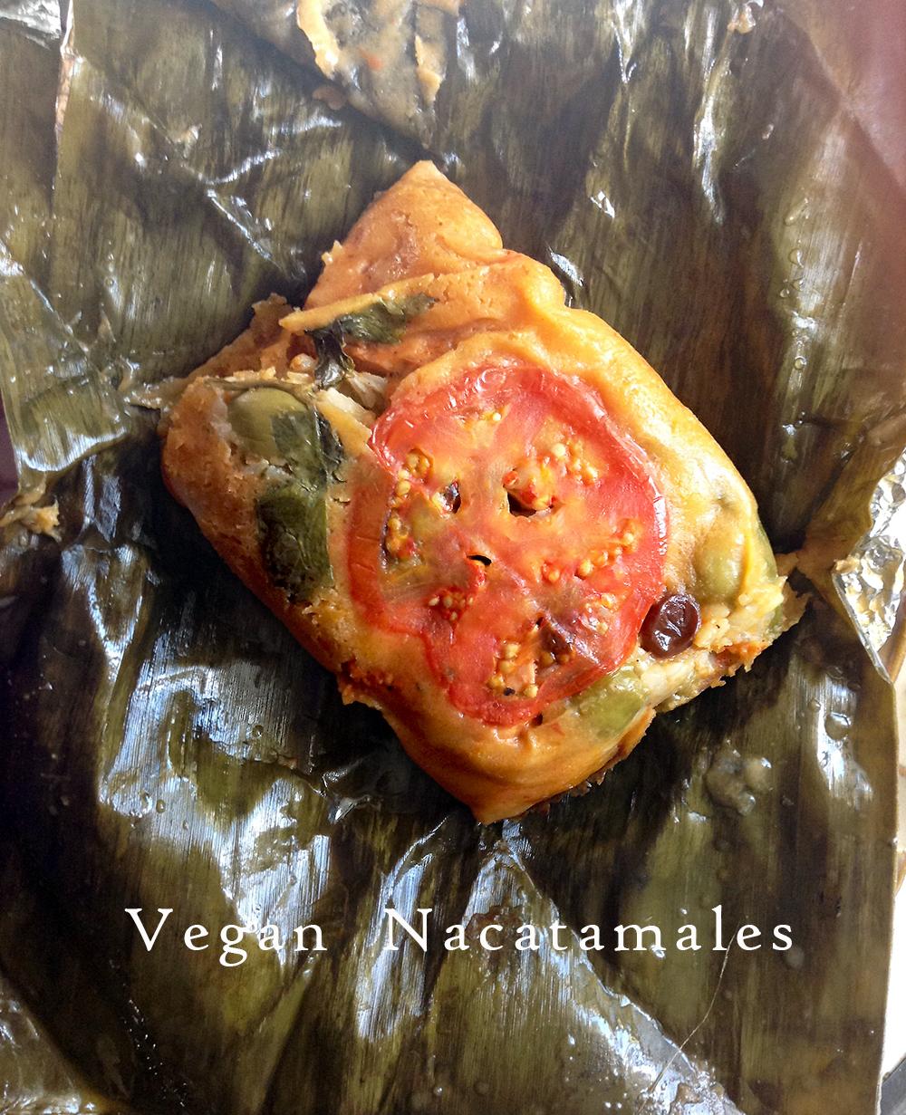 Vegan Nacatamales (Nicaraguan Steamed Corn Cakes)