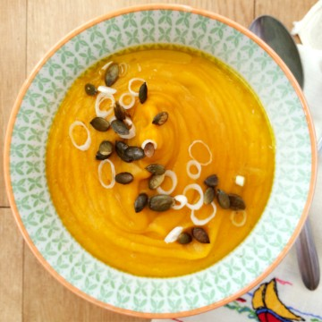 Vegan Sweet Potato and Leek Soup