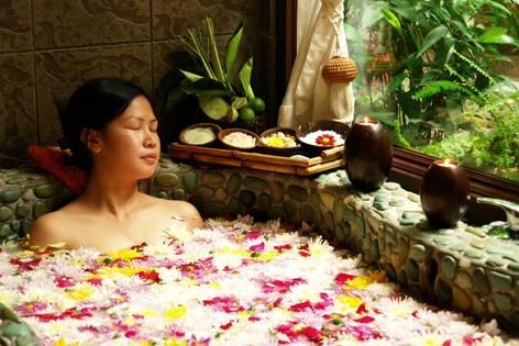 Going for a day at the spa will definitely help you to relax your body and mind