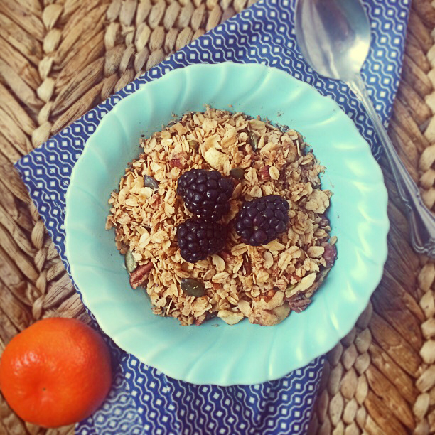 Vegan Breakfast Recipes: Low-Sugar Granola