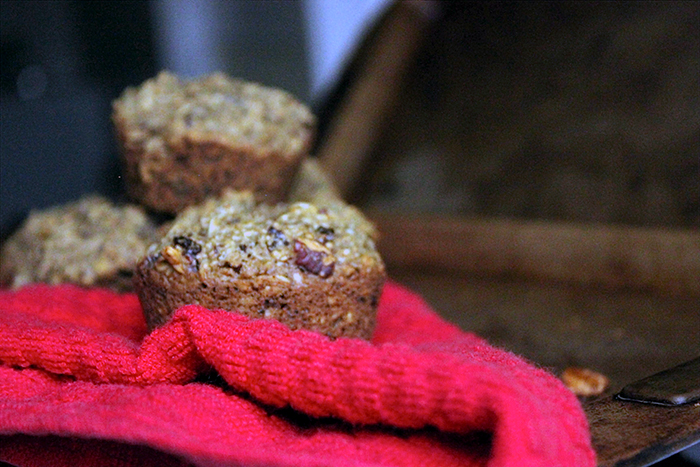 Vegan Muffin Recipes: Cherry Pecan Protein Muffins