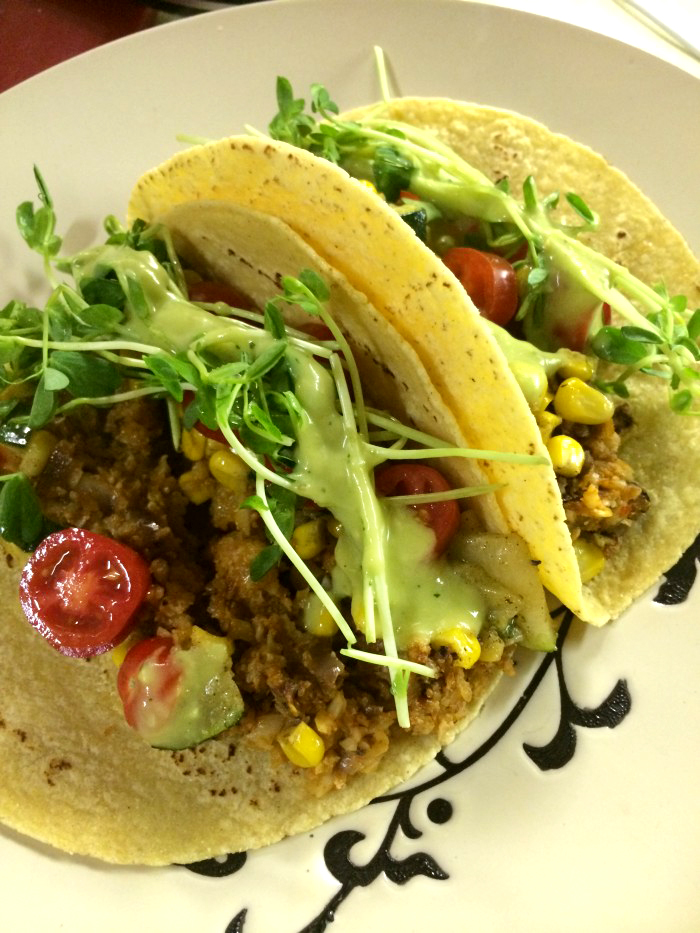 Vegan Mexican Recipes: Plant Powered Cauliflower Tacos