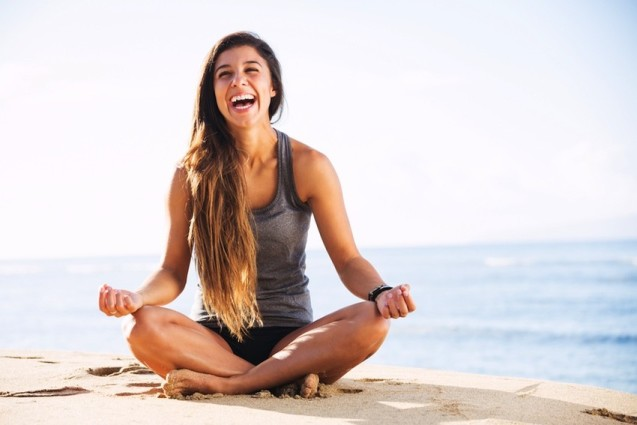 I Tried It: Laughing Yoga