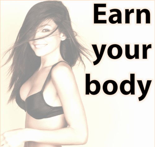 Self-Love: Why You Don't Have to Earn Your Body