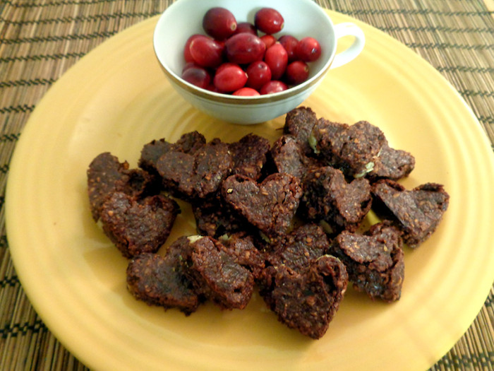 Vegan Cranberry Cacao Brownies