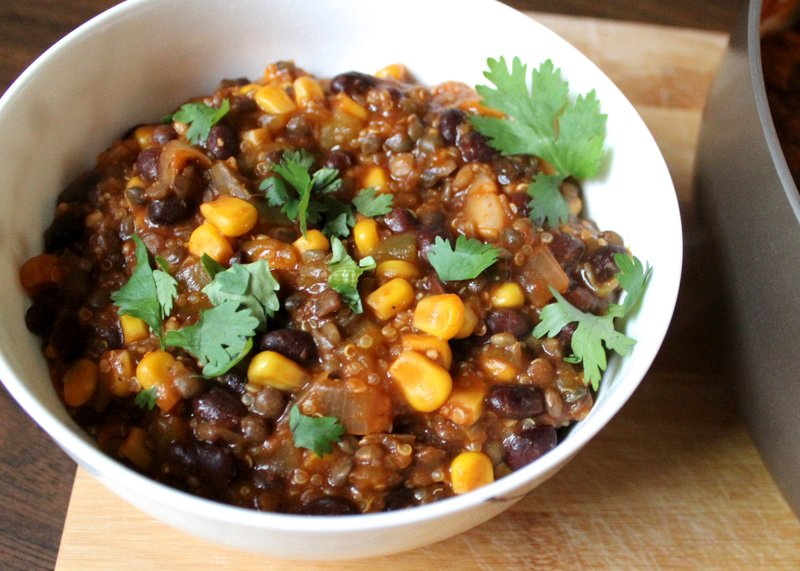 Vegan Soup Recipes: Southwest Chili