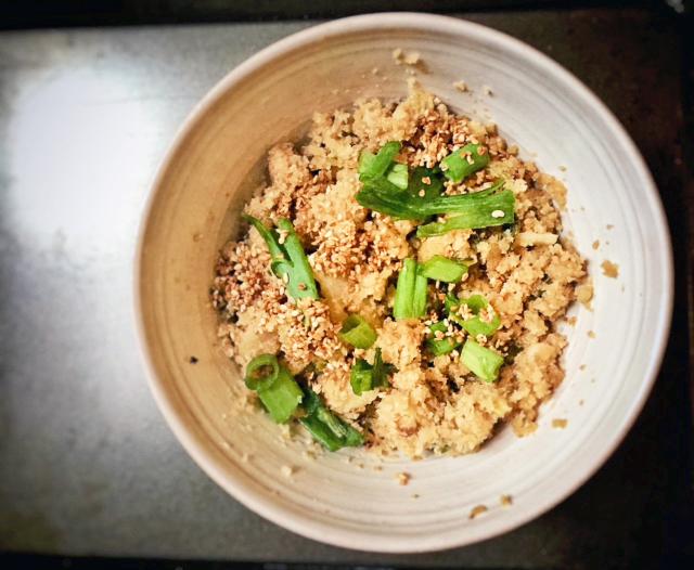 Vegan Cauliflower Rice