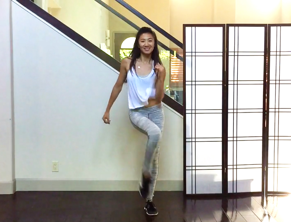 4 Fun Cardio Dance Moves: Jive