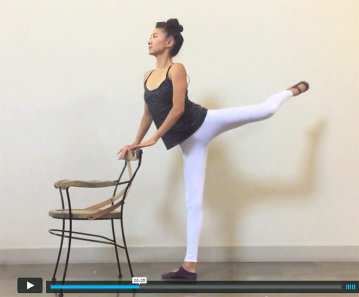 7 Minute Booty Barre Workout (Video)