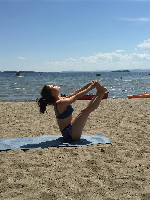 10 Minute Beach Yoga Sequence For Flexbility