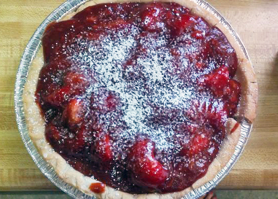 Gluten-Free Vegan Recipes: Fresh Strawberry Pie
