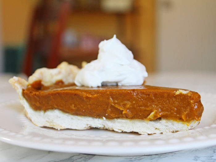 Vegan Thanksgiving Recipes: Kabocha Squash Pie