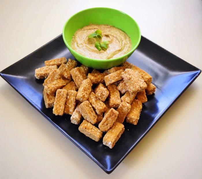 Vegan Kid-Friendly Recipes: Baked Tofu Nuggets