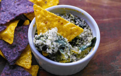 Vegan Appetizer Recipes: All Natural Spinach Artichoke Dip