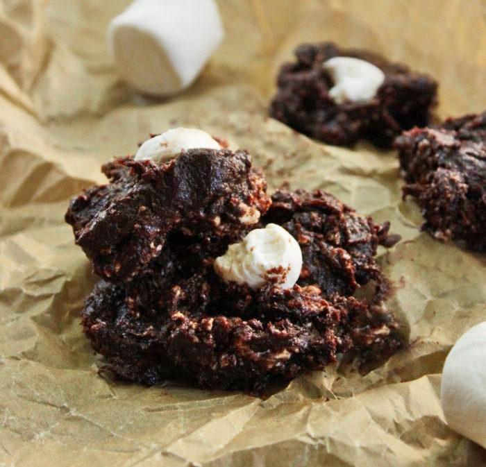Vegan S'mores Brownies