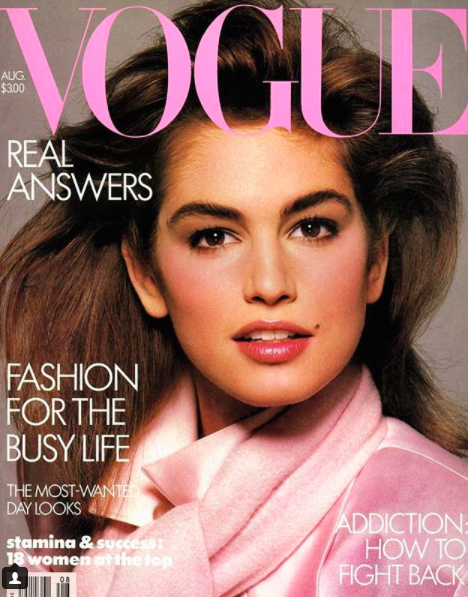 Cindy Crawford Young - Age 21