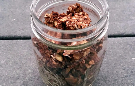 Vegan Peanut Butter & Chocolate Superfood Granola