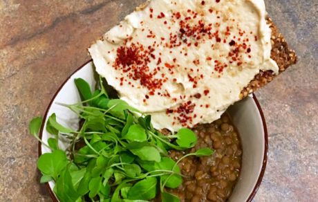 Simple & Warming Spicy Stewed Lentils