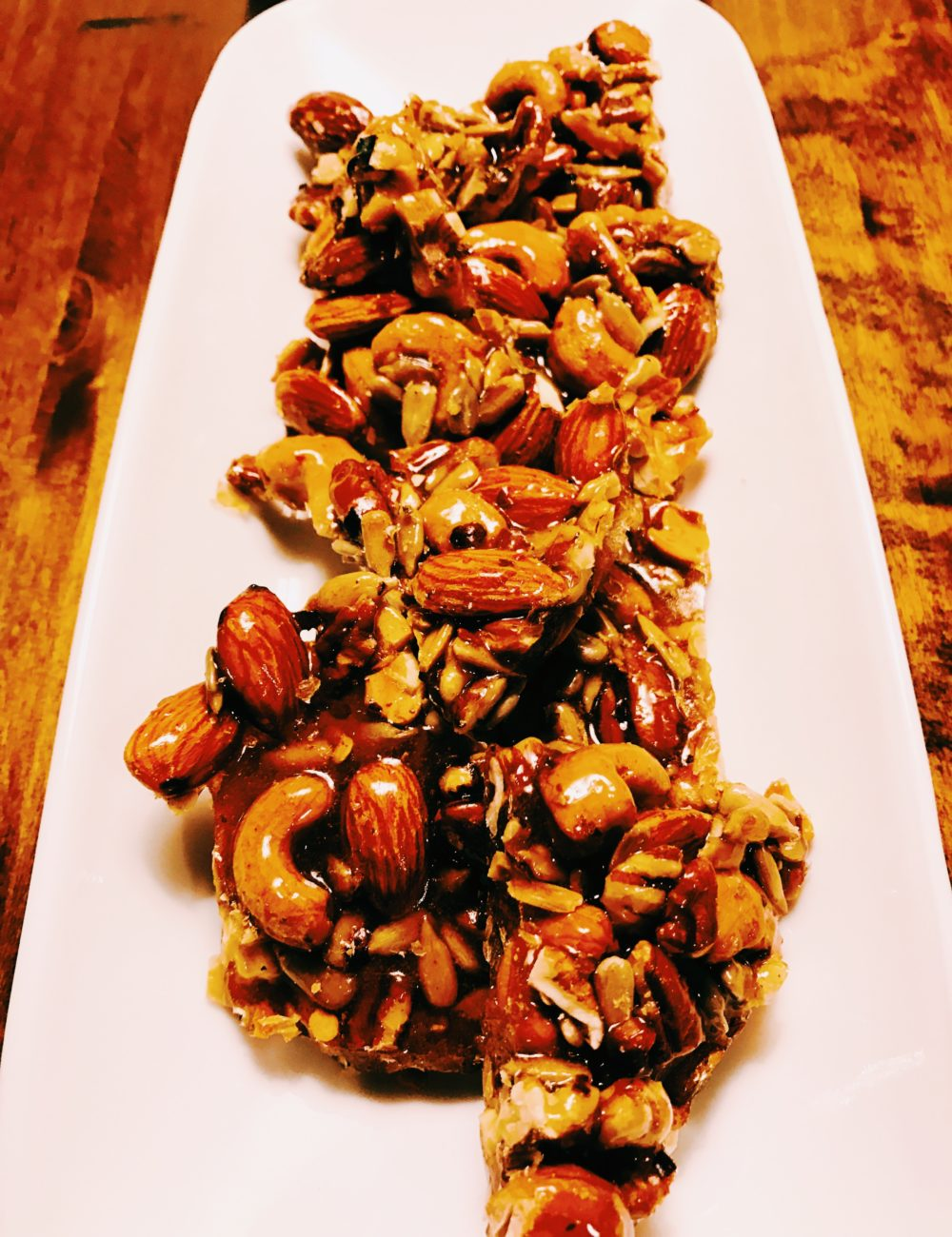 Sweet and Spicy Caramel Nut Candy