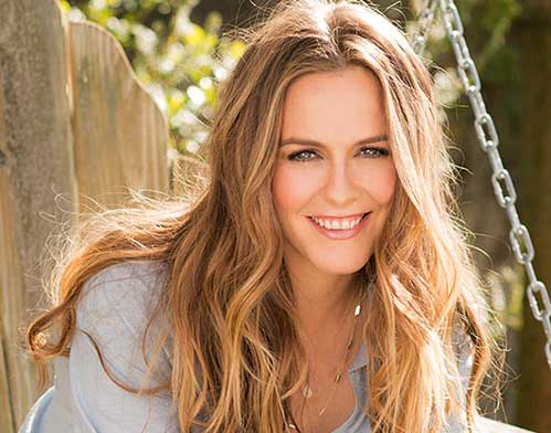 Alicia Silverstone, a celebrity who uses vegan collagen