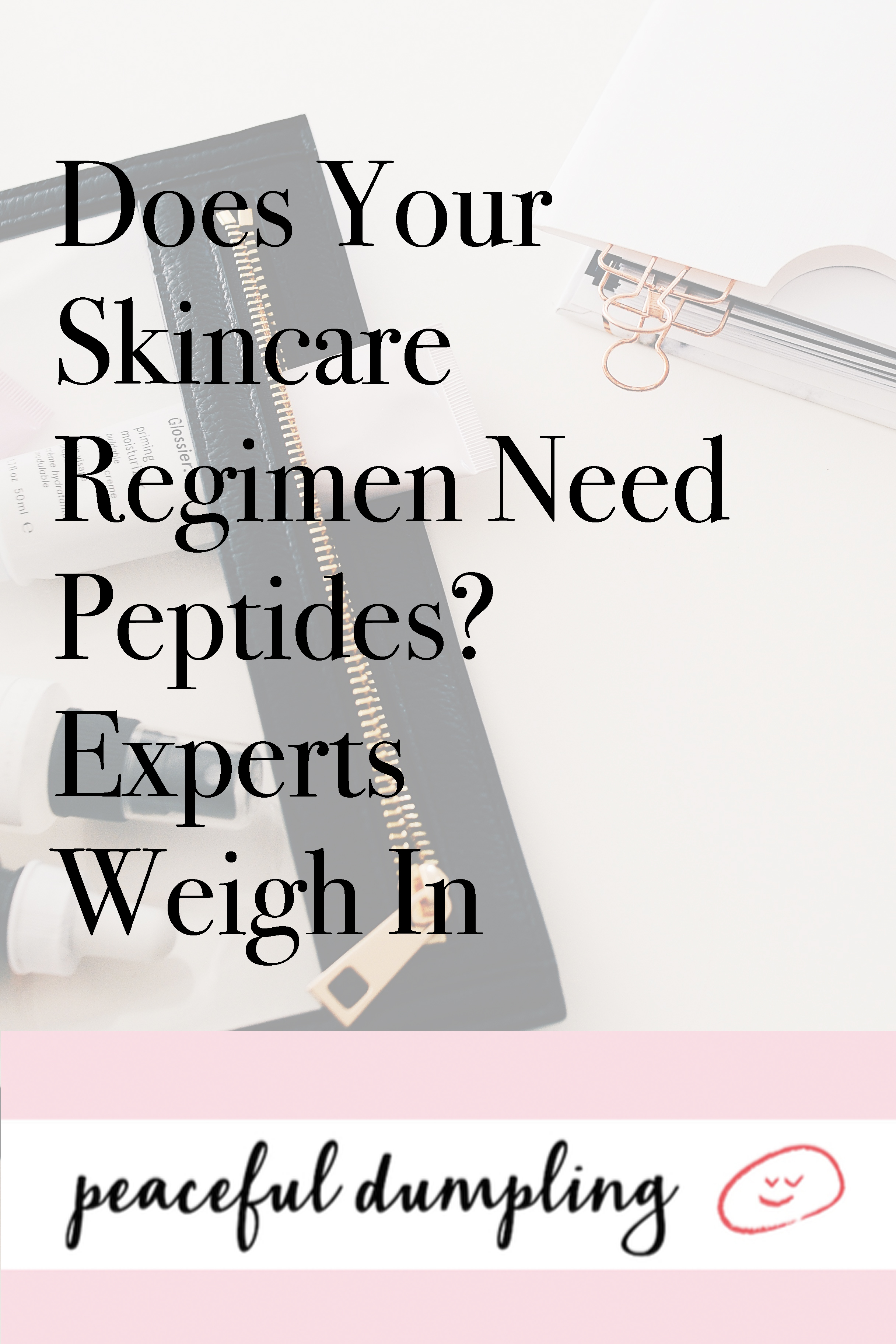 What On Earth Are Peptides & Do You Really Need Them? Experts Weigh In