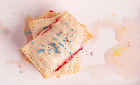 Vegan DIY Strawberry Pop-Tarts