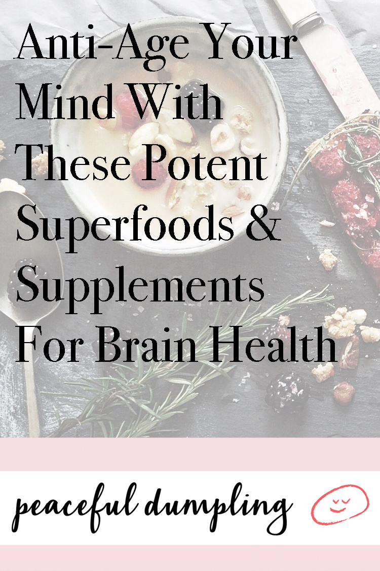 Anti-Age Your Mind With These Potent Superfoods & Supplements For Brain Health