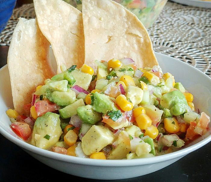 Vegan Ceviche With Avocado & Fresh Veggies
