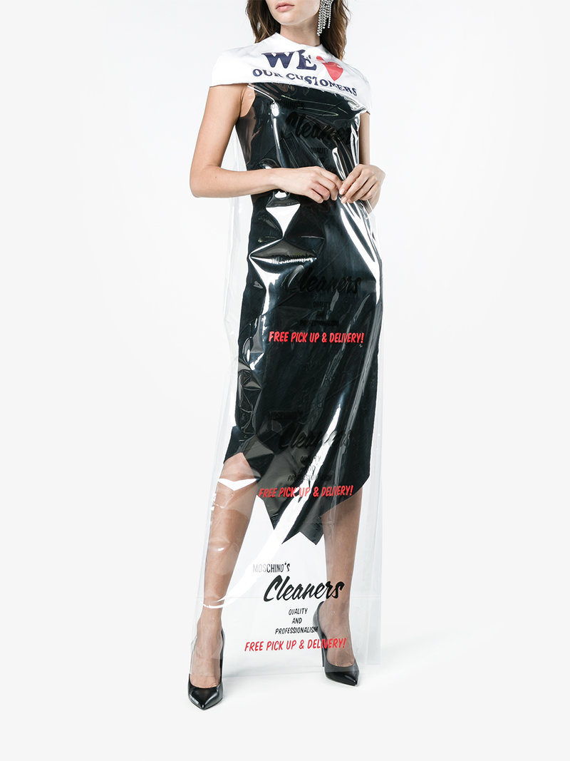 Moschino - Dry Cleaner Bag Dress