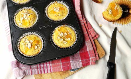 Vegan & Gluten Free Orange Oat Muffins