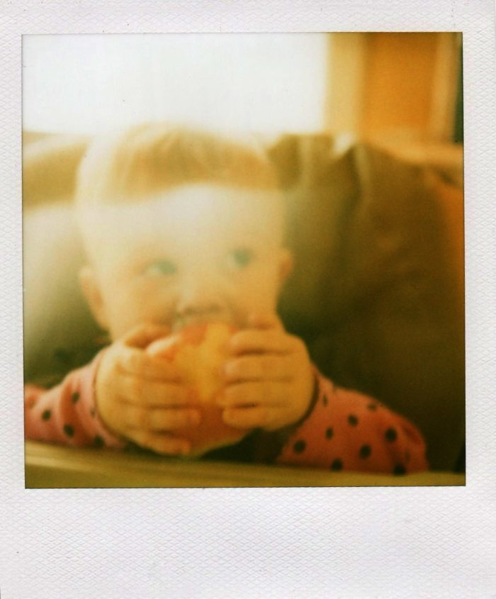 Poloroid Photo of Baby