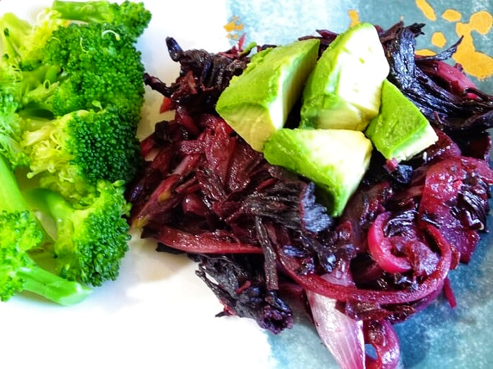 hibiscus-meat-replacement-side-dish