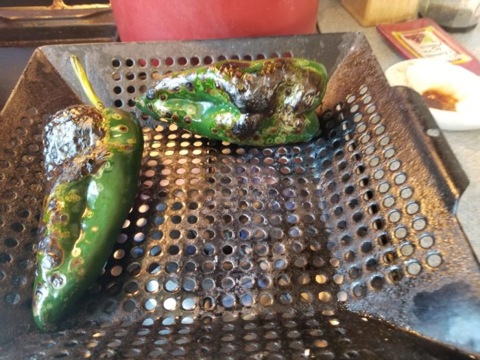grilling chile