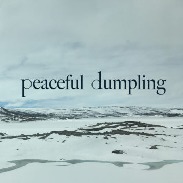 peaceful dumpling